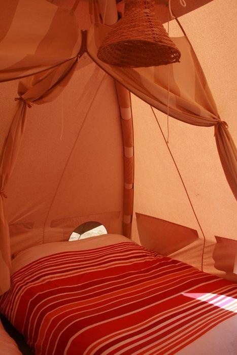 Slapen in de tent