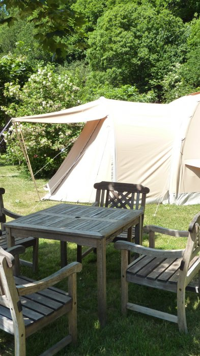 tent rental in france & equipped karsten rental tent Holiday France campsite