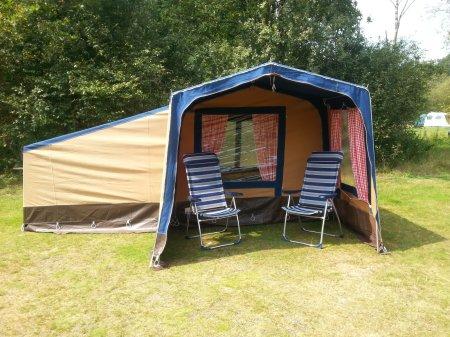 vintage bungalow tente equipee Tarn