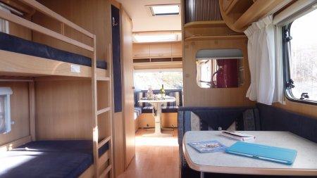Caravan op kleine camping te huur Zuid Frankrijk