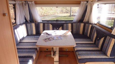 Te huur caravan op kleine camping in de Tarn