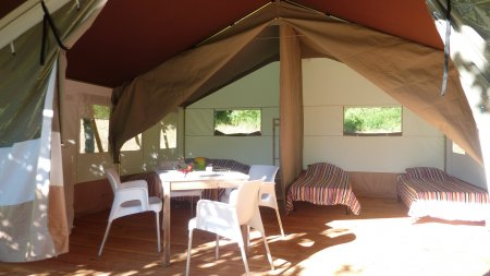 safari tent rental france
