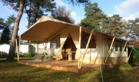 Luxury safari tent france