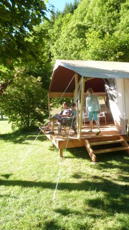 Rent Safari lodge tent France lacanal