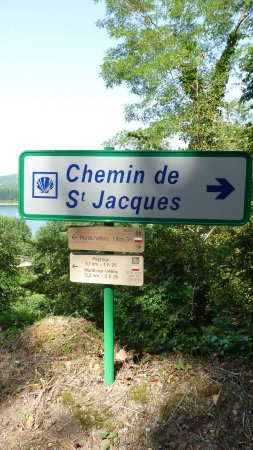 route St. Jacques de Compostelle
